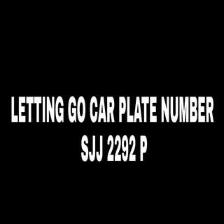 SJJ2292P. CAR PLATE NO. FOR SALE