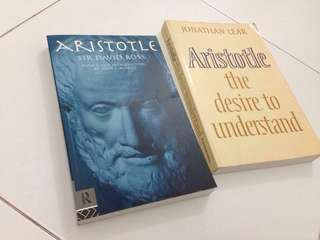 Philosophy Books by Aristotle and Plato