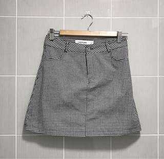 🏁 The Editor Market Gingnam Plaid Skirt 🏁