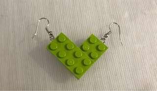 LEGO® Dangling Earrings - Handmade with original LEGO® 4x2 bricks!