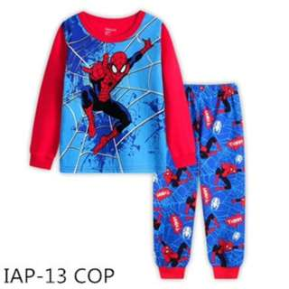 INSTOCK Spiderman pjs
