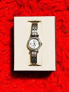 Coach Diamonds Bracelet Watch
