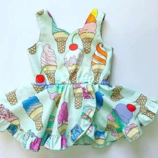 Lovely Princess Baby Girls Romper Sleeveless Dress Bodysuit Jumpsuit Outfits