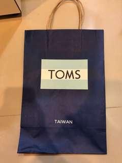 🚚 TOMS 中紙袋
