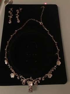 Set necklaces+earrings