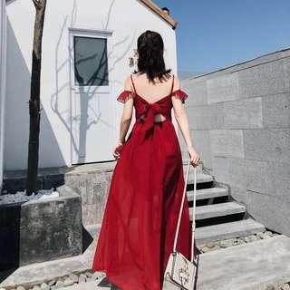 🚚 超美夏日海島度假女神洋裝