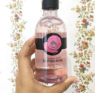 British Rose Shower Gel 250ml