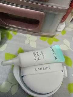 Pore Blurring laneige +Cushion Laneige pore oil control