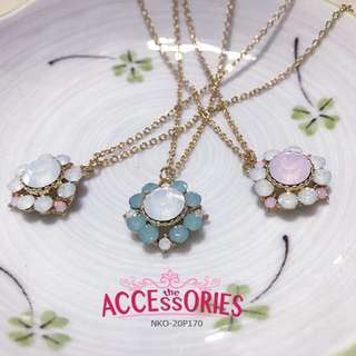 Bling Flower Crystals (Necklaces) -  Sale