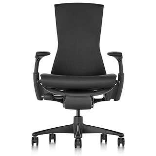 [NEW] Herman Miller Embody Chair - Graphite Frame/Black