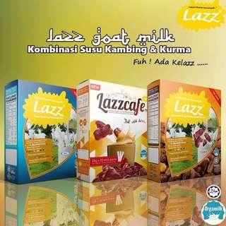 100% Authentic Lazz Susu Kambing Original/Kurma/Cafe