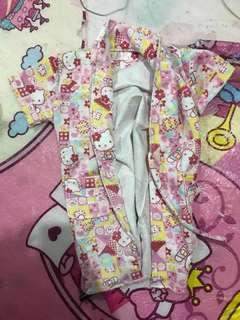 kid's bathrobe