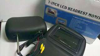 "Headrest Monitor 7""inch"