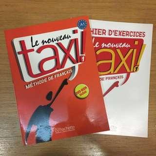 French Textbook & Activity Book (Le Nouveau Taxi 1)