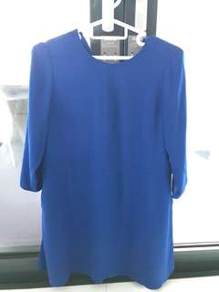 Aritzia blue dress