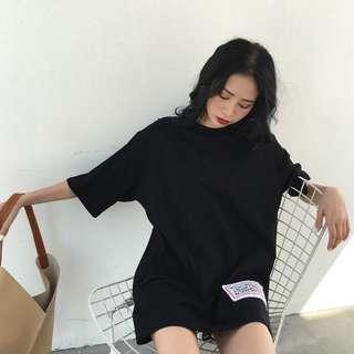 {PREORDER}  Printed Loose T shirt dress