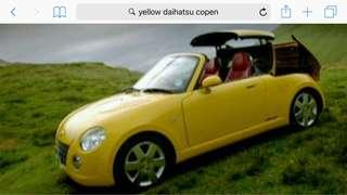 Daihatsu Copen parts for sale