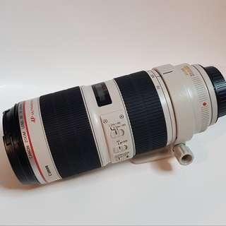 Canon 70-200 f2.8 IS mk ii
