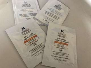 Kiehl's Sample Products