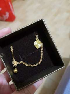 916 gold anklet (adult)