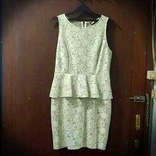 Preloved warehouse dress size 40 /L