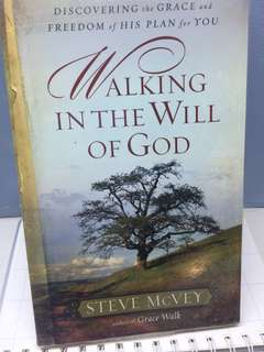 Christian Books- walking in the will of God