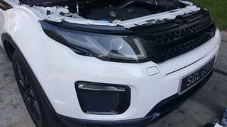 Head light tinting & Tail light tinting