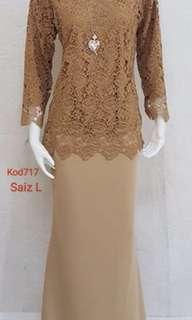Set blouse lace kod717. Tmasuk pos‼️‼️Rm55sm/Rm59ss