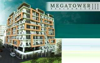 MegaTowers 3 Preselling Condo Near Session Rd and SM