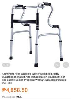 Preloved wheeled walker