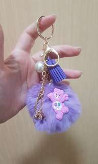 Care Bear Bag Charm Keychain