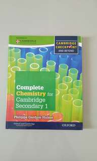 Chemistry for Cambridge Secondary 1