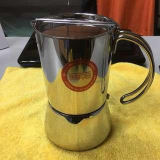 德國製造:6杯原裝摩卡壺