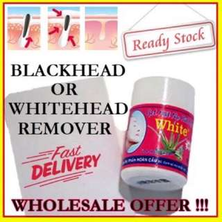 Blackhead and whitehead remover