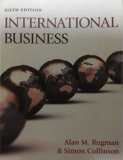 International Business (6th edition)
