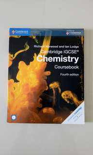 Chemistry Cambridge IGSCE 4th edition