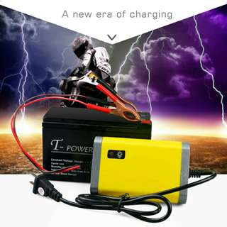 New Car Battery Charger Motorcycle Accessory 12V 2A Automatic