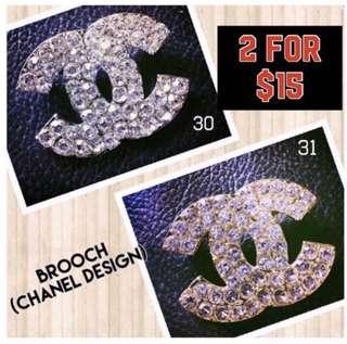 Korean Brooch (Chanel Design)