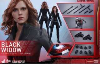 Hot Toys MMS 365 Black Widow (Captain America Civil War)