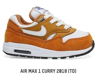 Nike AM1 *Curry (infant/toddler)