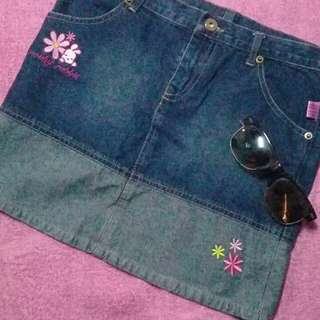 Robby Rabbit denim skirt