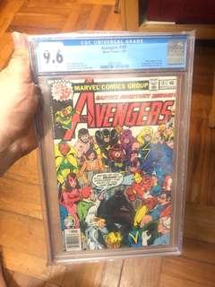 Marvel Comics - AVENGERS 181 (1st appearance of Scott Lang [Ant-Man])