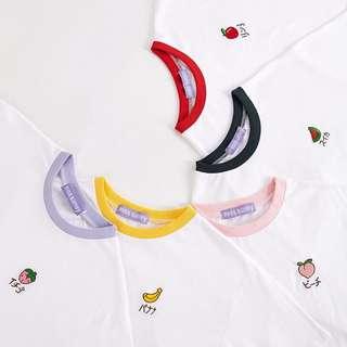 {PREORDER}  Short sleeve fruits cute t shirt