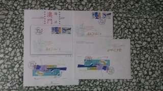 澳門郵票 海洋 一套