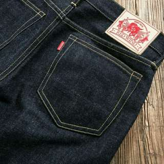 Red Wind SD107 Slim Straight 17oz Selvedge Jeans