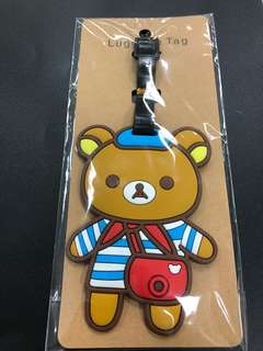 Rilakuma Camera Luggage Tag