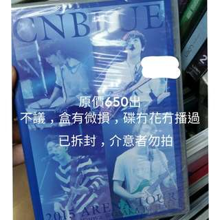 CNBLUE JAPANESE VERSION DVD CONCERT