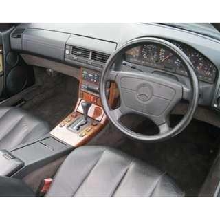 MERCEDES R129 DASHBOARD