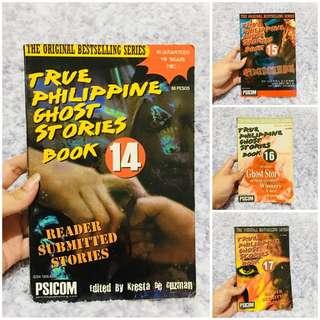 True Philippine Ghost Stories Book Bundle