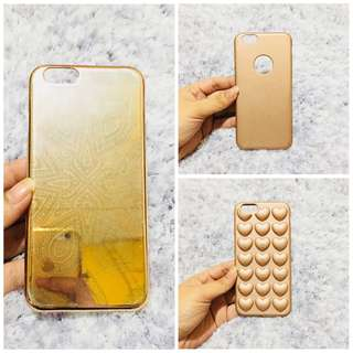 iPhone 6/6s Rose Gold Cases Bundle